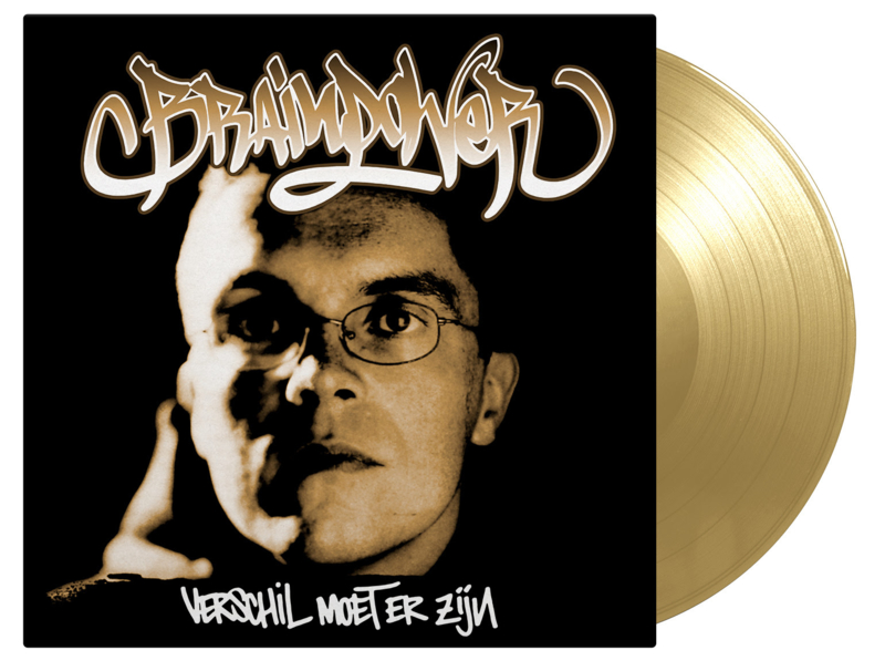Brainpower Verschil Moet Er zijn LP - Gold Vinyl