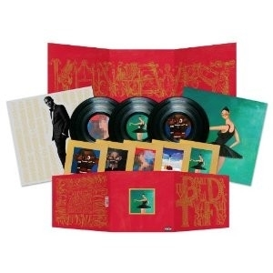 Kanye West My Beautiful Dark Twisted Fantasy 3LP