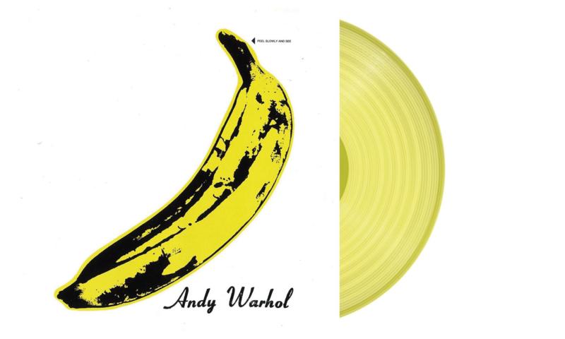The Velvet Underground & Nico (Banana Cover) LP - Yellow Vinyl-