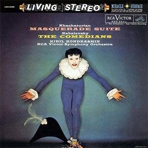 Khachaturian Masquerade Suite & Kabalevsky The Comedians 200g LP