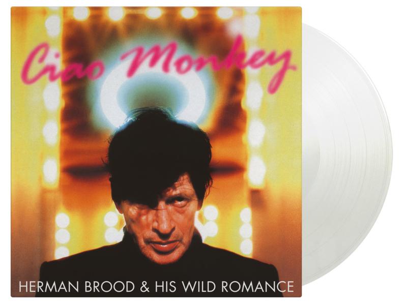 Herman Brood Ciao Monkey LP - Clear Vinyl-