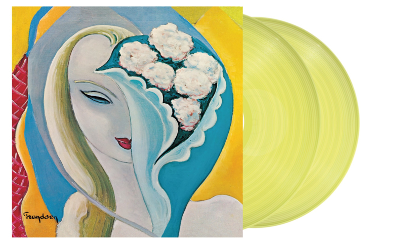 Derek & The Dominos Layla And Other Assorted Love Songs 2LP - Yellow Vinyl-