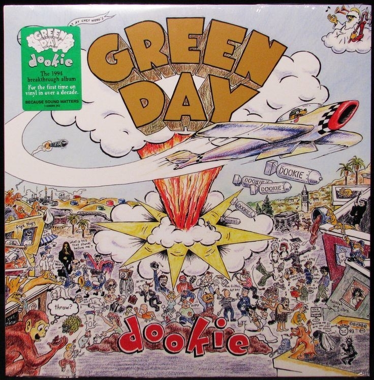 Green Day Dookie 180g LP