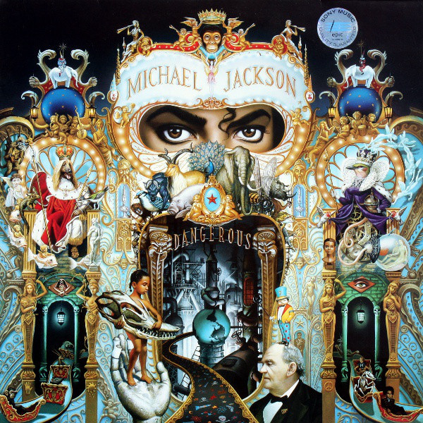 Michael Jackson  Dangerous 2LP