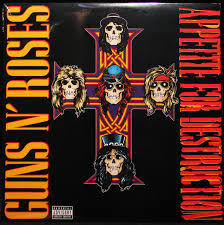 Guns N`Roses Appetite For Destruction LP