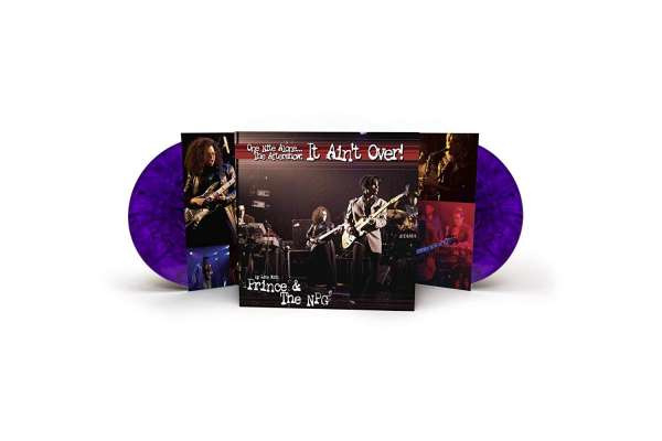 Prince: One Nite Alone...The Aftershow: It Ain't Over 2LP - Purple Vinyl-