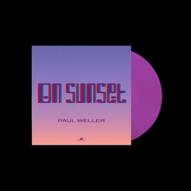 Paul Weller On Sunset LP - Peach Vinyl-