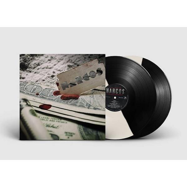 NARCOS -LTD- BLACK & WHITE COLORED LP
