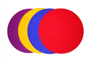 Rega Turntable Mat Coloured
