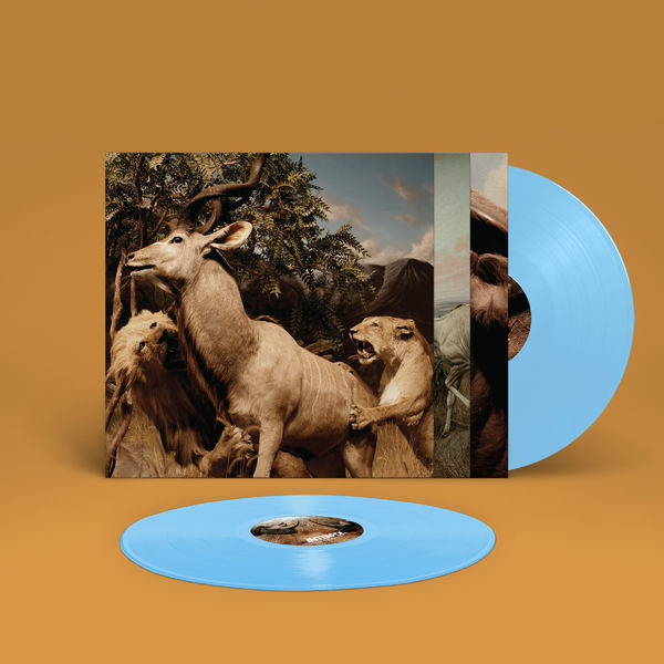 Interpol Our Love To Admire LP - Blue Vinyl-