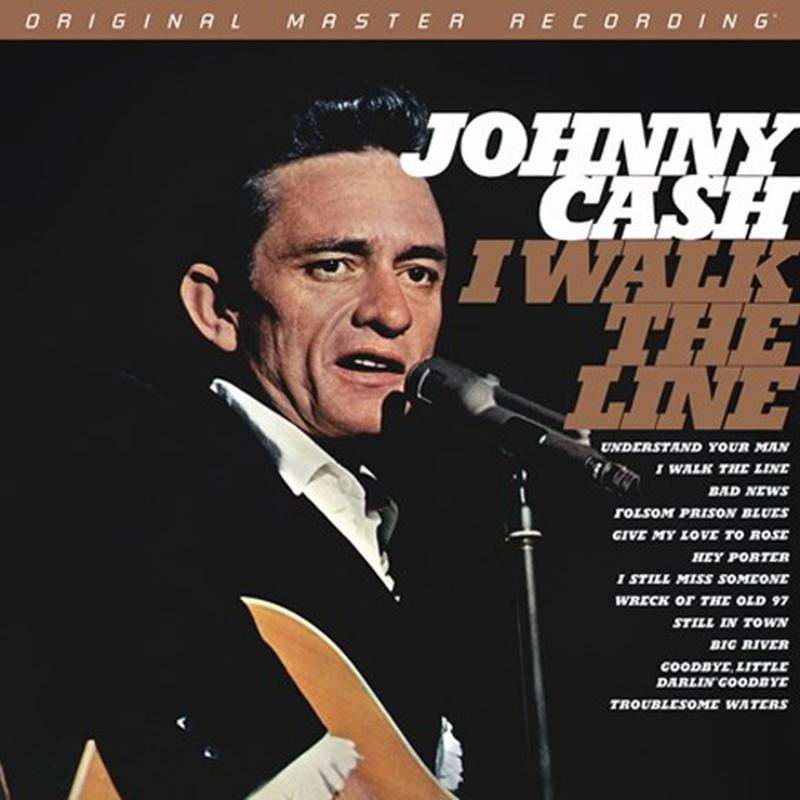 Johnny Cash I Walk The Line Numbered Limited Edition Hybrid Mono SACD