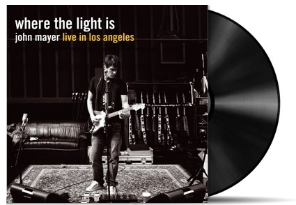 John Mayer  Where The Light Is 4LP