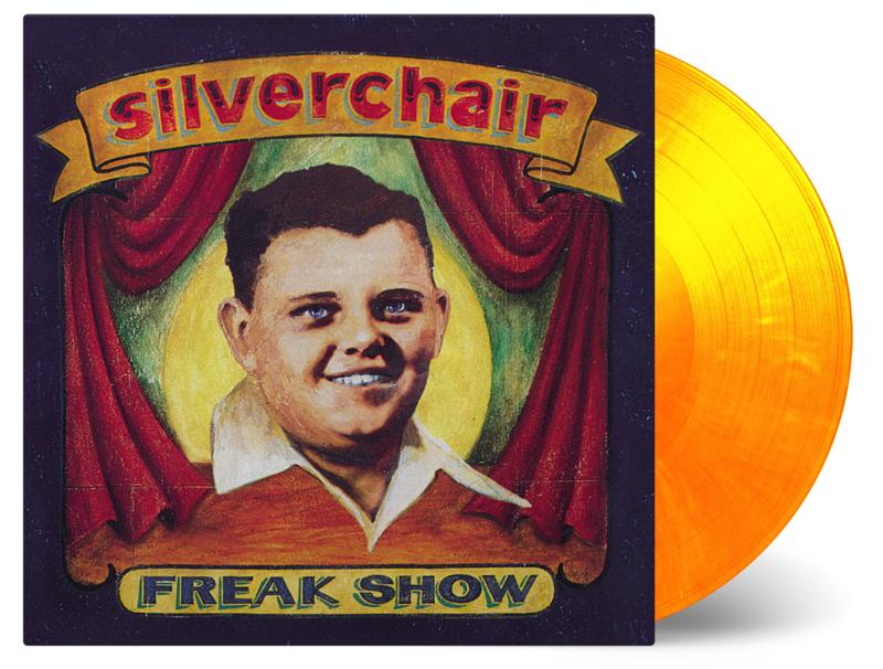 Silverchair Freak Show LP - Red/Yellow Vinyl-