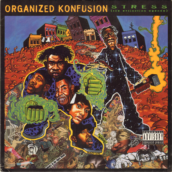 Organized Konfusion Stress: The Extinction Agenda 2LP