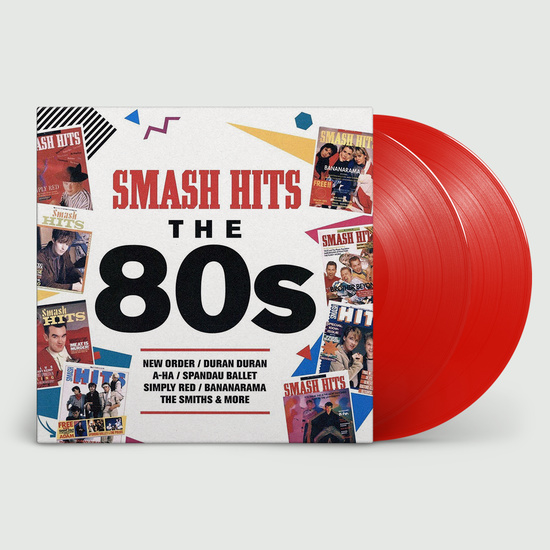 Smash Hits The 80's 2LP - Red Vinyl-