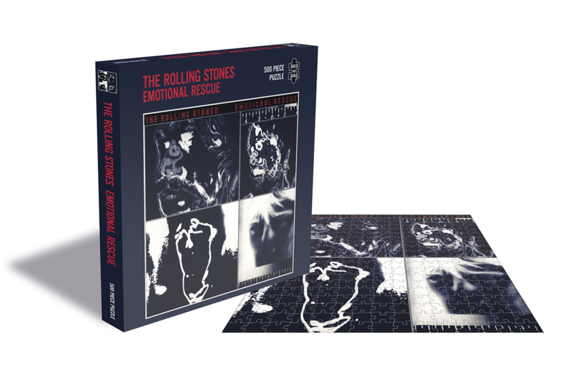 Rolling Stones Emotional Rescue Puzzel