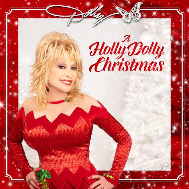 Dolly Parton A Holly Dolly Christmas LP -Opaque Red Vinyl-