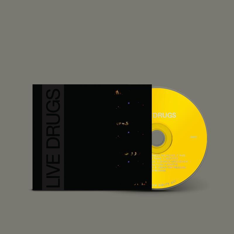 War On Drugs Live Drugs CD