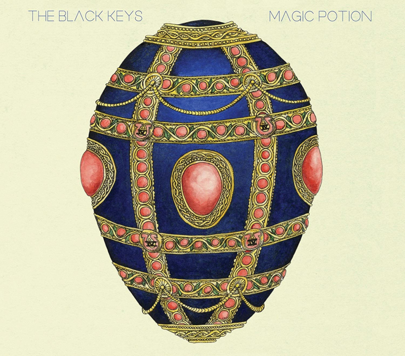 Black Keys Magic Potion LP