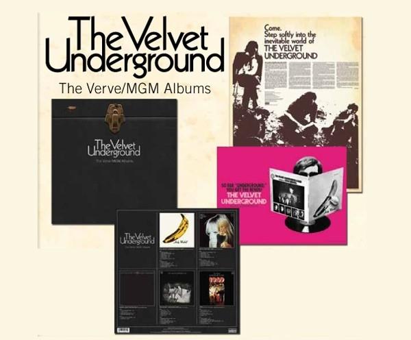 The Velvet Underground - The Verve MGM album 5LP Box