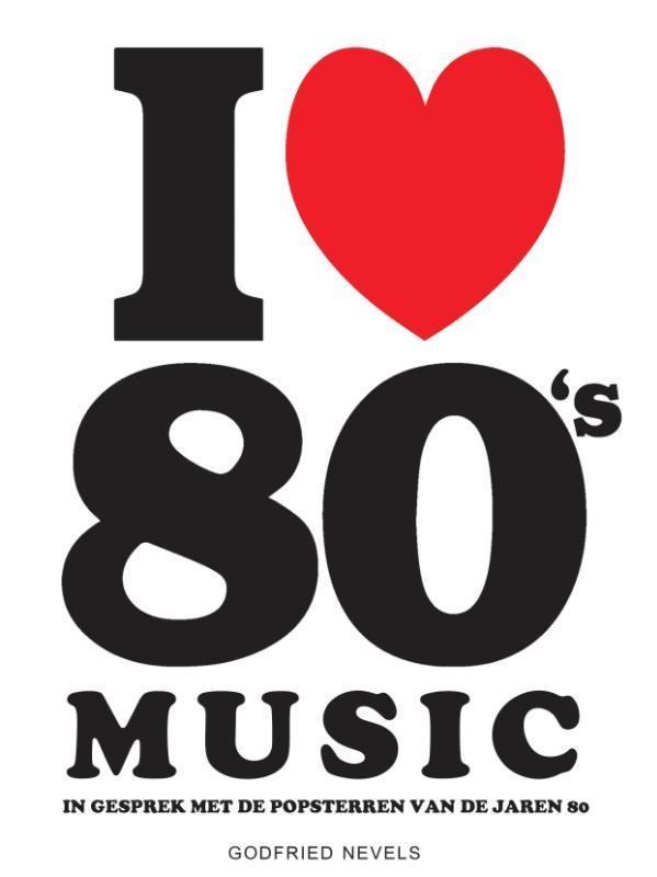 I Love 80's Music Boek