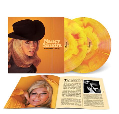 Nancy Sinatra Start Walkin' 1965-1976 2LP -Summer Wine Sunburst Orange Vinyl-