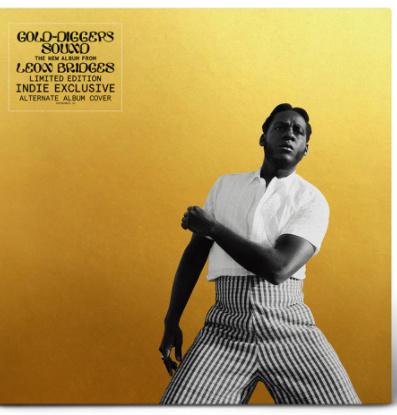 Leon Bridges Gold Diggers LP - Indie Only Cover-