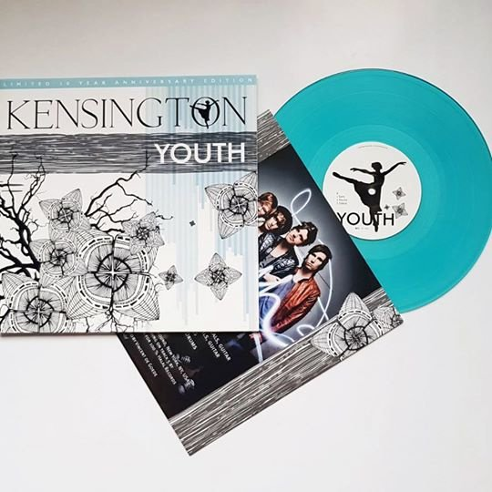 "Kensington Youth 10""  - Transparant Vinyl-"