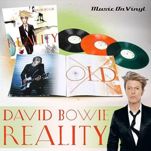 David Bowie - Reality LP - Coloured Orange Version
