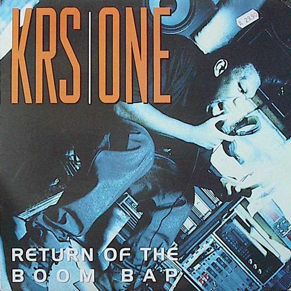Krs-One Return Of The Boom Bap 2LP