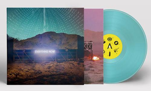 Arcade Fire Everything Now LP - Night Version- Turquoise Vinyl