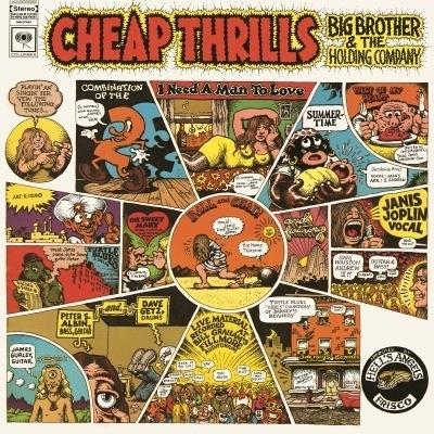 Janis Joplin Cheap Trills LP