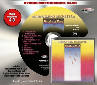 The Mahavishnu Orchestra Birds of Fire Numbered Limited Edition SACD