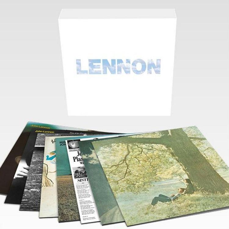 John Lennon Lennon Album Box 9LP