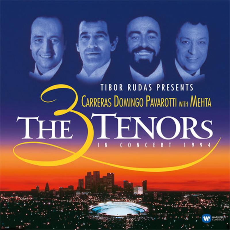 The 3 Tenors Tibor Rudas Presents The 3 Tenors In Concert 1994 2LP