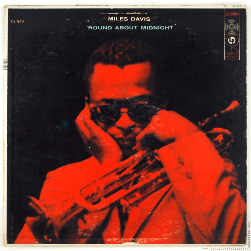 The Miles Davis Quintet Round About Midnight LP.