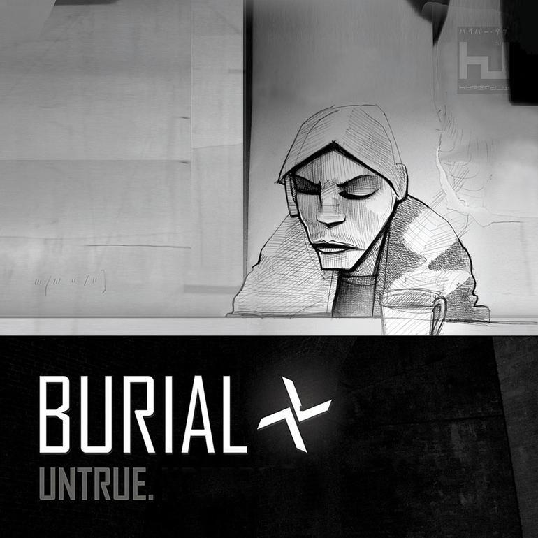 Burial Untrue LP