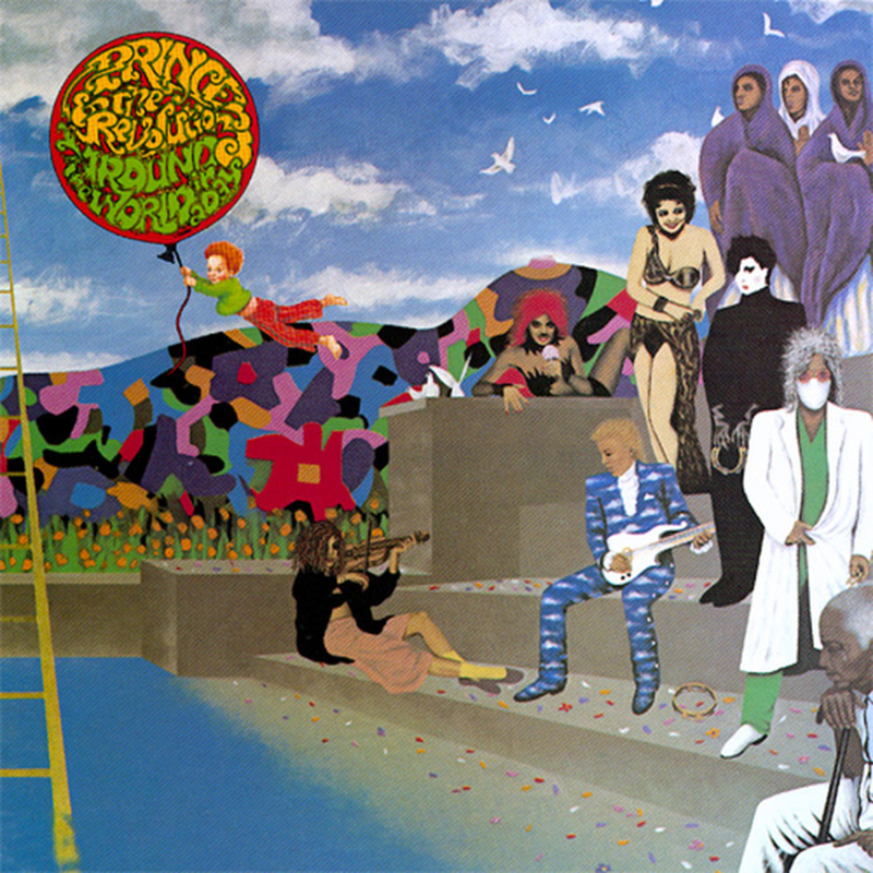 Prince & The Revolution Around The World In A Day LP