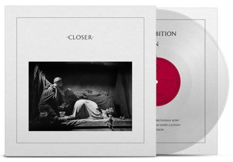 Joy Division Closer (40th Anniversary) 180g LP -Crystal Clear Vinyl-