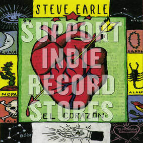 Steve Earle El Corazon LP