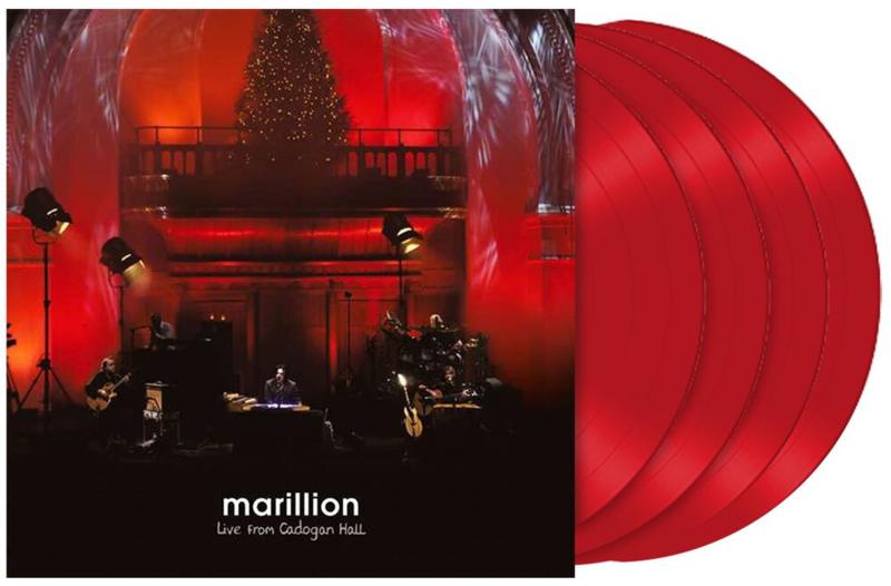 Marillion Live From Cadogan Hall 4LP -Red Vinyl-