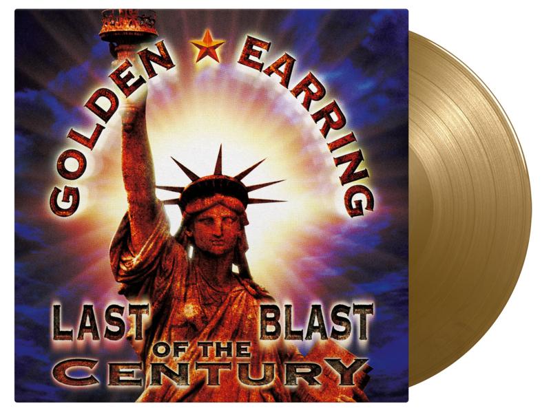 Golden Earring Last Blast Of The Century 3LP - Gold Vinyl-