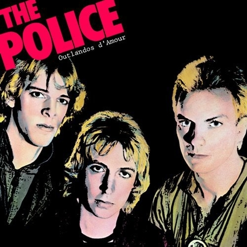 The Police Outlandos D'Amour LP
