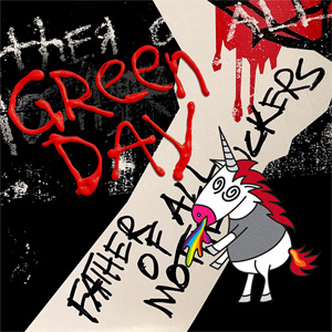 Green Day Father Of All...LP  - Red & White Vinyl-