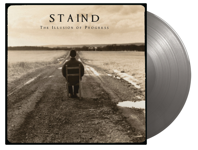 Staind The Illusion Of Progress 2LP - Silver Vinyl-