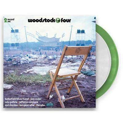 Woodstock Iv 2LP - Green White Vinyl-