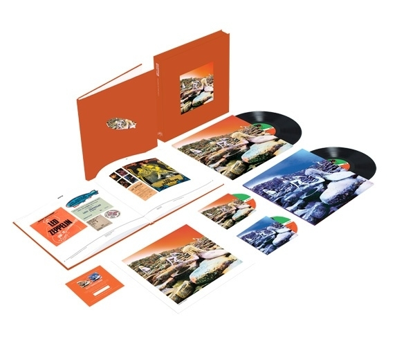 Led Zeppelin House Of The Holy 2LP + 2CD Super Deluxe Box