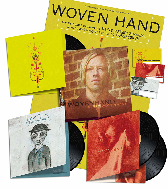 Woven Hand Early Woven Hand 4LP