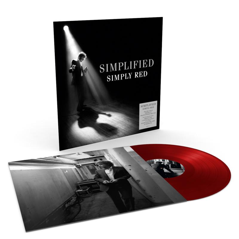 Simply Red Simplified LP - Red Vinyl-