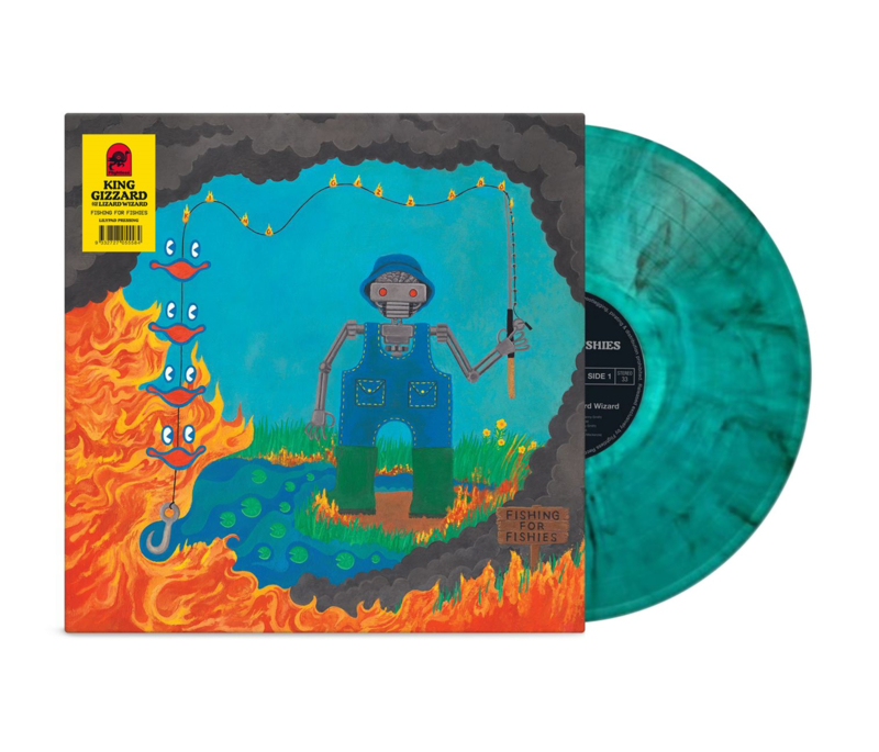 King Gizzard and the Lizard Wizard - Fishing for Fishies -Coloured-